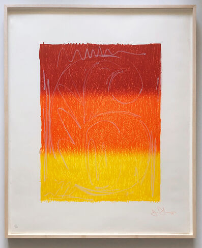 Jasper Johns, 'Figure 6, from Color Numeral Series (ULAE 65; Gemini 122)', 1969