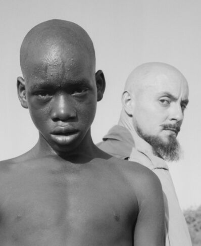 Hector Acebes, 'Hector Acebes and Boy, Senegal', 1953
