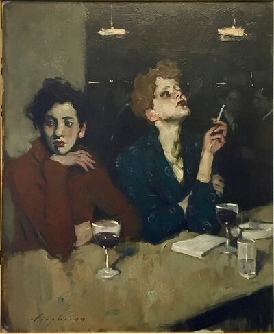 Malcolm T. Liepke, 'Two Women at The Bar ', 2000