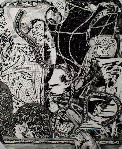 Frank Stella, 'Engraving IX', 1984