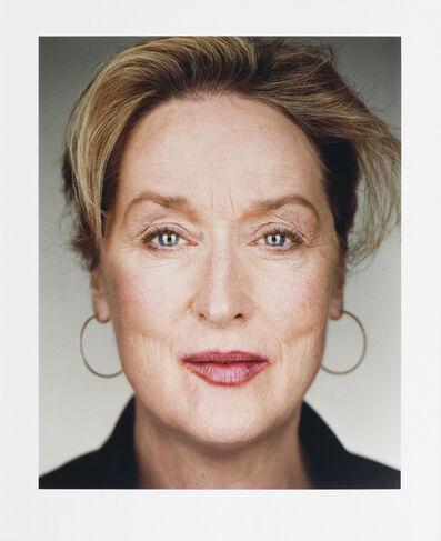 Martin Schoeller, 'Meryl Streep', 2006