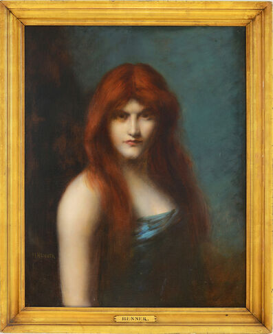 Jean-Jacques Henner, 'Portrait of a  Red Headed Woman', 1890–1905