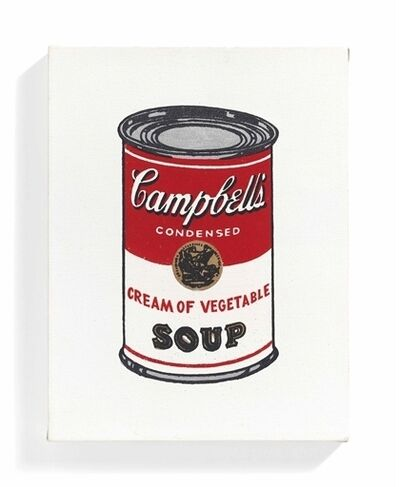 Richard Pettibone, 'Campbell's Coup Can, Cream of Vegetable'