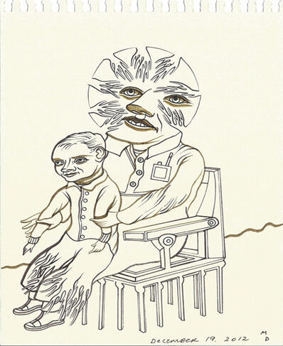 Matthew Dennison, 'Daily Drawings: December 19, 2012', 2012