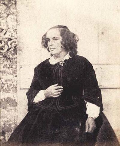 Auguste Vacquerie, 'Madame Hugo', 1853c/1853c