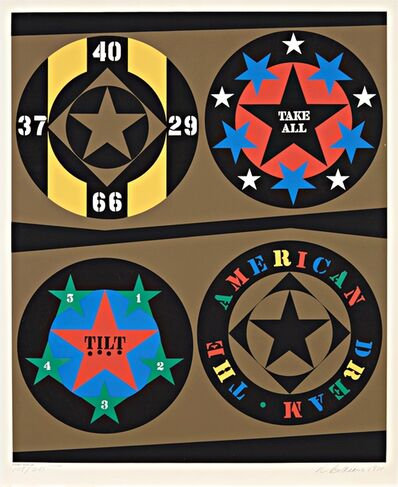 Robert Indiana, 'Tilt, from the original 1971 American Dream portfolio (Sheehan 63) ', 1971