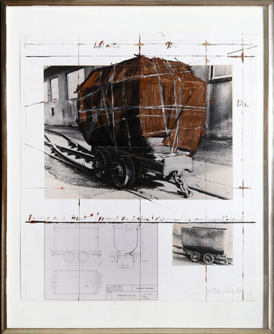 Christo, 'Package on a Hunt', 1988