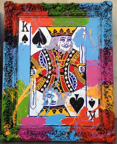 Elena Bulatova, 'King of Spades ', 2019