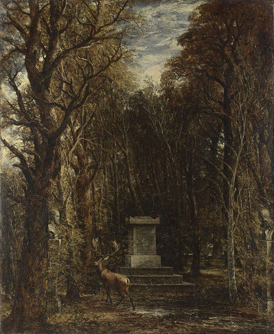 John Constable, 'Cenotaph to the Memory of Sir Joshua Reynolds', 1833-1836
