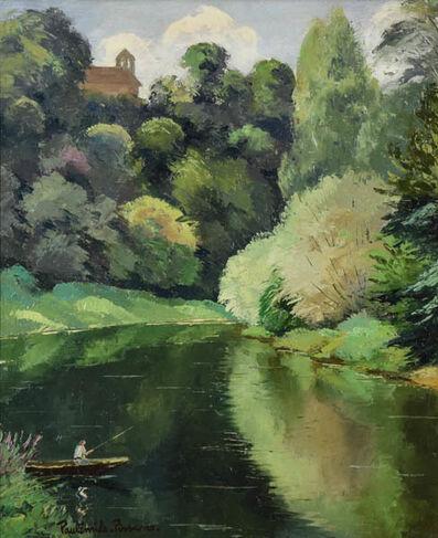 Paul-Emile Pissarro, 'Pecheur Sur Un Lac', 1930