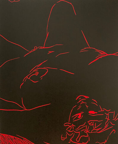"Tina Fuentes, '""Deseo"" from ""Las Mujeres Hablan""', 1989"