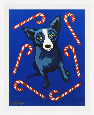 George Rodrigue, 'SWEET LIKE YOU (BLUE DOG)', 2000