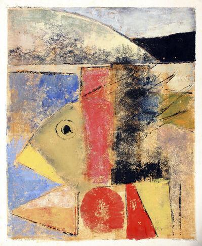 Muraina Oyelami, 'Pond & Landscape', 1997