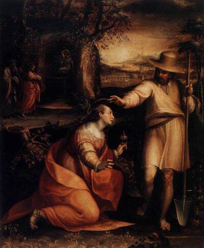 Lavinia Fontana, 'Noli Me Tangere', 1581