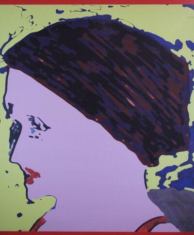 Oscar Lubow, 'Profile with Bun', 1995