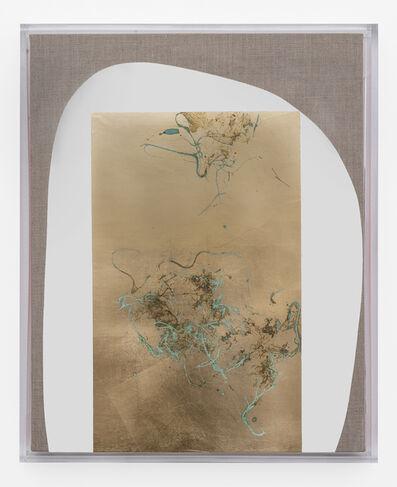Pierre Vermeulen, 'Hair orchid sweat print, white form with vermillion', 2019