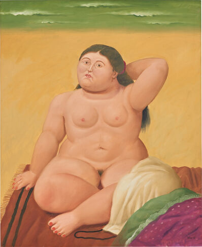Fernando Botero, 'The Beach', 2003