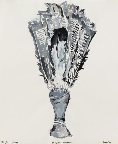 "Nancy Graves, 'Study for ""Shaman""', 1971"