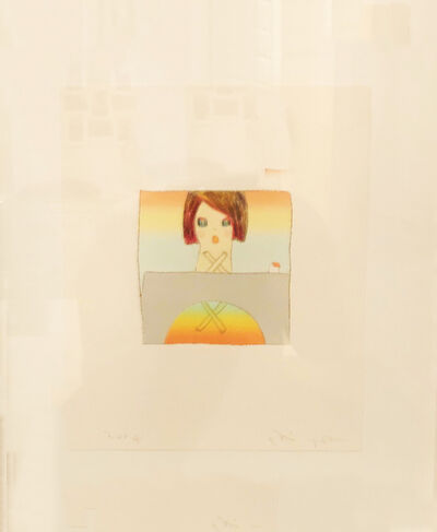 Yoshitomo Nara, 'Over the Rainbow - Collectors Edition', 2005