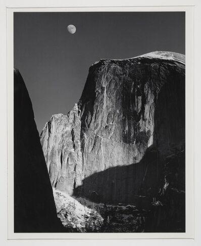 Ansel Adams, 'Moon and Half Dome, Yosemite National Park, CA', 1929