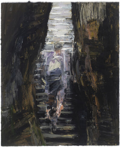 Euan Macleod, 'Climbing (internal stairs) ', 2016