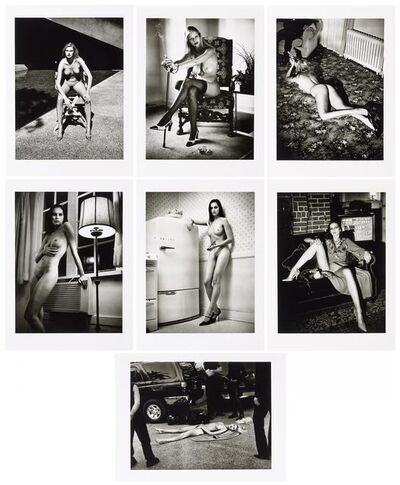 Helmut Newton, 'Cyberwoman. Portfolio with 7 prints.', 2000