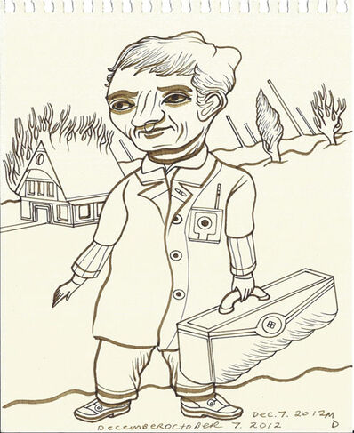 Matthew Dennison, 'Daily Drawings: December 7, 2012', 2012