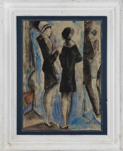 "Zaza Tuschmalischwili, '""Im Modesalon"" ', ca. 1990"