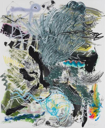Wu Jian'an 邬建安, '500 Brushstrokes #46 五百笔 #46', 2018
