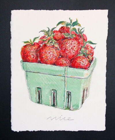 Don Nice, 'Strawberries', 2014
