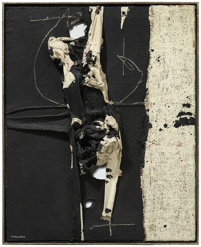 Manolo Millares, 'Cuadro (4)', 1963