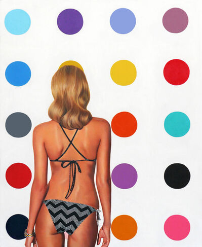 Marc Dennis, 'The Impossibility Of Geometry In The Mind Of Someone In A Bikini', 2015