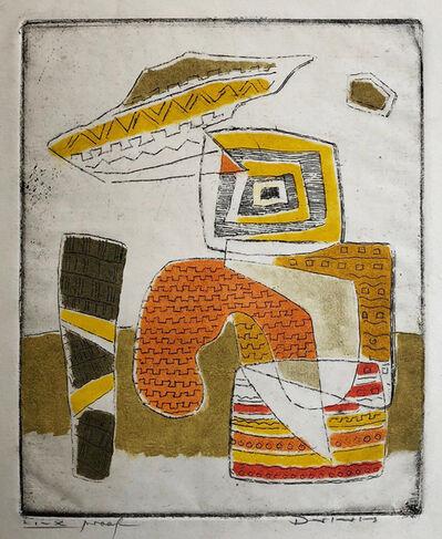 Werner Drewes, 'The Orange Figure', 1940