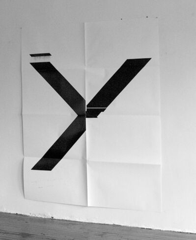 Wade Guyton, 'X Poster (Untitled, 2007, WG1211)', 2019