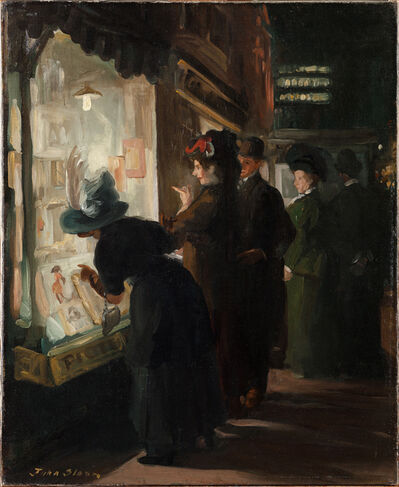 John Sloan, 'Picture Shop Window', 1907