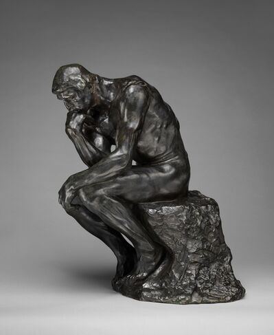 Auguste Rodin, 'The Thinker', Modeled ca. 1880-cast ca. 1910