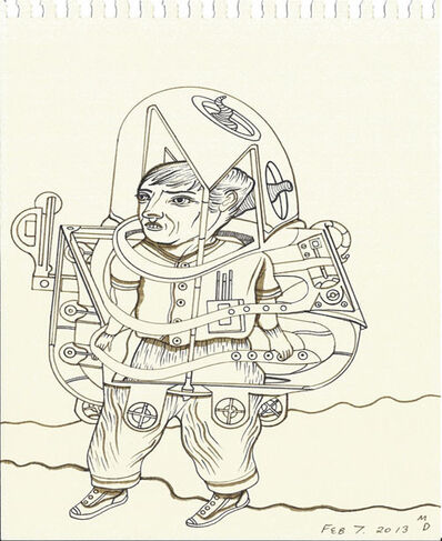 Matthew Dennison, 'Daily Drawings: February 7, 2013', 2013