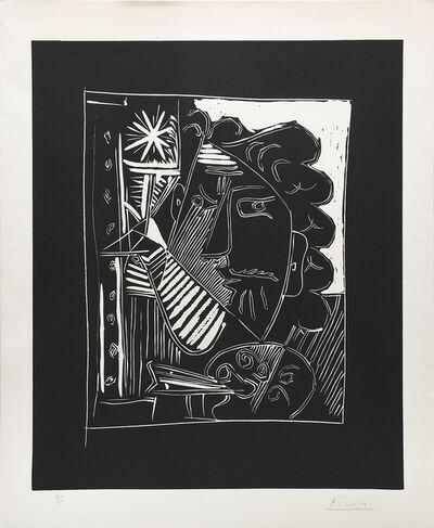 Pablo Picasso, 'Le peintre à la palette. (Painter with his Palette.)', 1963