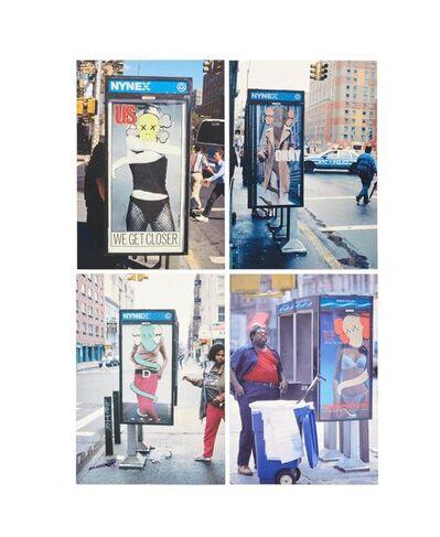 KAWS, 'KAWS x NGV Postcard (Set of 4) (Phone Shelters)', 2019