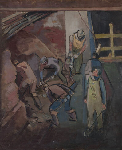 Jack Tworkov, 'Untitled, Excavation', 1939
