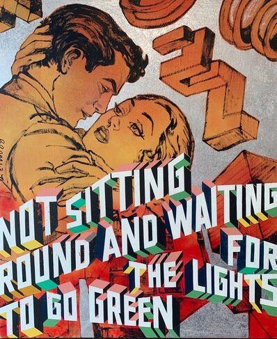 David Bromley, 'Not sitting round and waiting ', ca. 2019