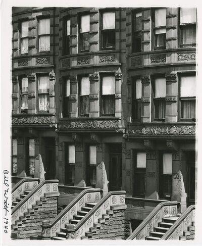 Bill Witt, 'New York City, Upper West Side', 1940