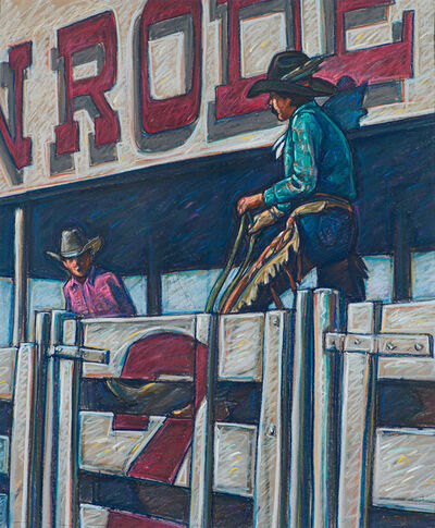 Howard Post, 'Untitled (Cowboys in Bull Pen)', 20th/21st Century