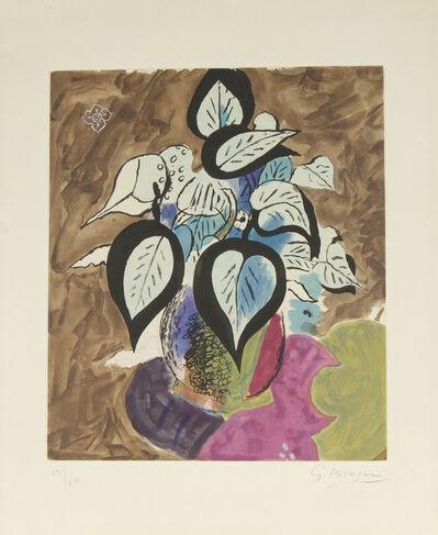 Georges Braque, 'Feuillage en Couleur', 1956