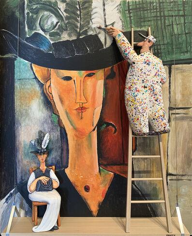 Stephen Hansen, 'Madam Pompadour (Modigliani)', 2019