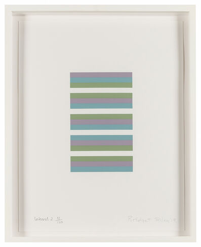 Bridget Riley, 'Intervals 2', 2019