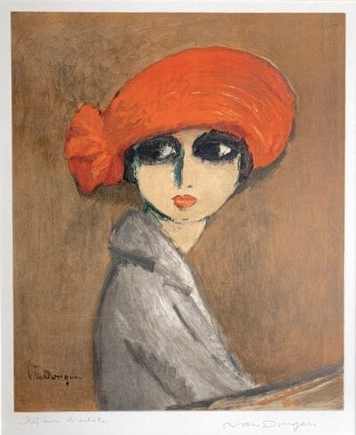Kees van Dongen, 'Le Coquelicot (The Corn Poppy)', 1960