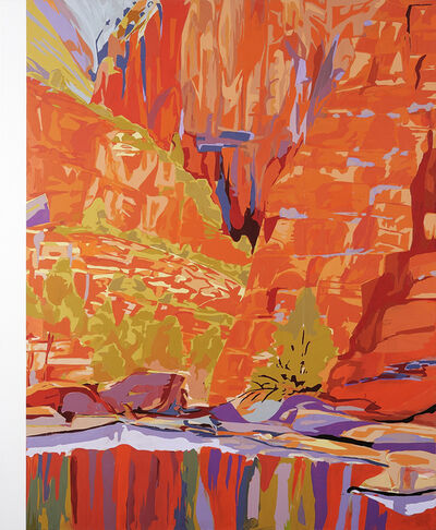Richard Dunn, 'Quarta-Tooma (Ormiston Gorge) 1939 (After Albert Namatjira) #2', 2002-2012
