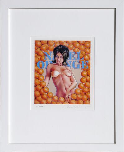 Mel Ramos, 'Navel Orange', 2013