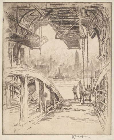 Joseph Pennell, 'The Ferry House', 1919